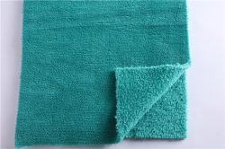 Drucken-und Färbenfabrik-Verzerrung strickte Ananas-Rasterfeld-korallenrotes Vlies gefärbtes zweiseitiges Vlies-Jacquardwebstuhl-Ananas-Flanell-Ausgangstextilgewebe