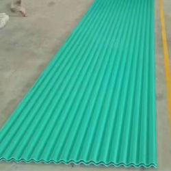 Зеленый цвет пластмассовых материалов ПВХ плитки на крыше
