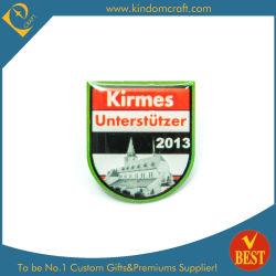 저렴한 맞춤형 실크스크린 인쇄/오프셋 인쇄 에폭시 금속 핀 배지 Kirmes를 위한 선물