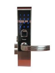 Безопасное управление доступом к электронным считыватель отпечатков пальцев замок двери водителя