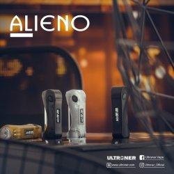 Température Vape portable Mod populaire réglable Ultrioner Alieno E Boîte à cigarettes