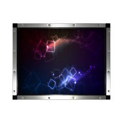 Video dello schermo attivabile al tatto di IR della visualizzazione dell'affissione a cristalli liquidi di Cjtouch 15inch LED