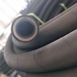 Fil d'acier renforcé flexible en caoutchouc en spirale