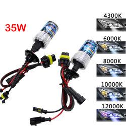 35W CC HID Xenon Slim H7 Kit de balastro da lâmpada do farol H1 H3 H11 H7 Kit HID Xenon 4300K, 6000K Substituir a lâmpada de halogéneo Automática da Luz