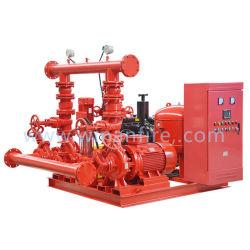 De Pomp van het Vuurwater van de Zuiging van het eind met de Elektrische Motor van de Dieselmotor