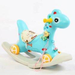 2020 heißer Verkaufs-populäres einfaches preiswertes Plastikinnenkind-Kind-Reitpferd hergestellt in China