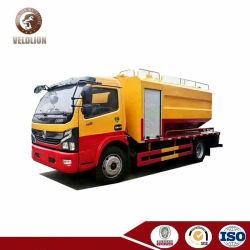 Dongfeng Schoonmakende Vrachtwagen van het Riool van het Uitwerpen van het Water van de Riolering van 5 Ton de VacuümZuiging Gecombineerde