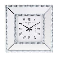 De vierkante Klok van de Spiegel voor het Decor van het Huis