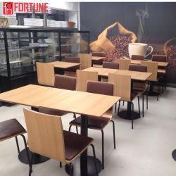 経済的な喫茶店の家具表は座席および背部クッションの椅子とセットした