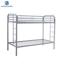 Новейшие дизайн мебели с одной спальней дешевые общежития металлические двухъярусная кровать рамы