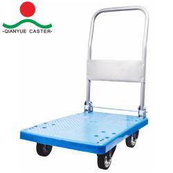 300 кг пластмассовых складных платформы погрузчика/Handcart/тележки/Handtruck