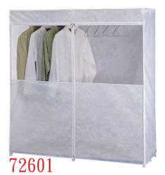 Chambre Simple Tissu chiffon coulissant pliable portable Assemblage armoire
