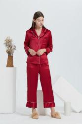 Un tessuto di seta puro dell'indumento del pigiama di seta di 16mm in vestiti