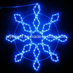 En dehors de vacances professionnel LED Décoration de Noël allume la LED flocon de neige