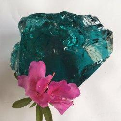 Приятный Ocean Blue стекла камни 5-30см для дома украшения и ландшафт