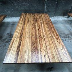 Toda a madeira Aduela Borda sólidos de madeira coladas de instrumentos
