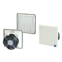 115 230VAC panneau IP54 Boîtier d'aération le Cabinet du filtre du ventilateur
