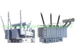 La Chine de la fabrication de l'AE48 refroidi par l'huile de type immergée Power transformateur électrique 220kv