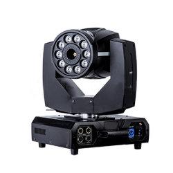 DMX512 RGBA 10LED 8 واط تحكم عن بعد في ماكينة الضباب الأمامية المتحركة