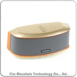 GS809 소형 금속 무선 옥외 Bluetooth 스피커