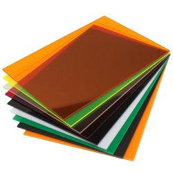 2,5 mm de espesor de color rojo de fundición panel acrílico Plastic Products