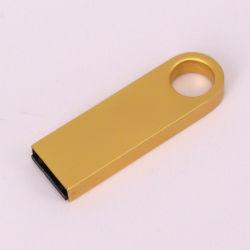주문을 받아서 만들어진 로고를 가진 선전용 금속 USB 섬광 드라이브