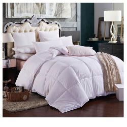100% coton tissu 233tc vers le bas la preuve avec 230gsm Hôtel couette en duvet de canard blanc