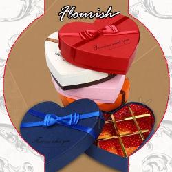 Il prezzo all'ingrosso progetta il contenitore per il cliente di imballaggio di carta del regalo con la decorazione