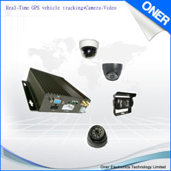 Seguimiento de vehículos GPS de la cámara de vídeo en vivo