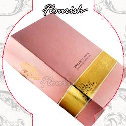 À la mode livre épais de style européen Boîte en carton de forme pour les cosmétiques Bijoux regarder Emballage de cadeau