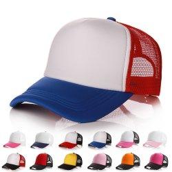 Cappello su ordinazione della rete del berretto da baseball di estate del cappello di marchio all'ingrosso di stampa che fa pubblicità alla protezione