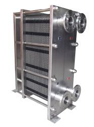 La plaque de châssis en acier inoxydable Échangeur de chaleur pour les aliments et de pasteurisation du lait et jus de fruits et de refroidissement