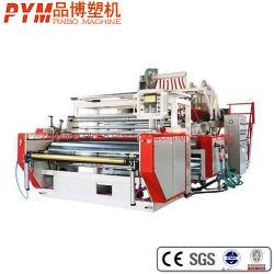 3/5 레이어 고속 주조 들러붙기 PE 확장 필름 압출기 LDPE/CPE/TPE용 기계 공장