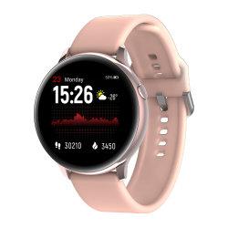 인기 있는 Kw08 Bluetooth 스마트폰 시계 심박수 모니터 혈압 방수 BT 전화 통화 스마트 워치