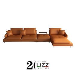 モダンな家具、リクライニングチェア、モーションソファ、セクション L 形レザー ソファ