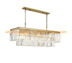 Lustre en cristal moderne / lampe de la poignée de commande (WHG-935)