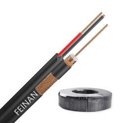 سعر جيد PVC حزمة 2c الطاقة Rg59 RG6 الكابل المحوري لكاميرا CATV