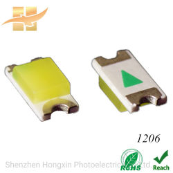 LED SMD 1206 Full Spectrum Professional RoHS aprobación SMD LED