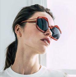 UV400, 여성용 특대형 패션 TR90 선글라스 배송 준비 완료