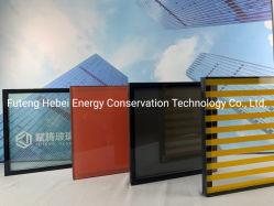 Construção de Janelas de Teto Oco cega baixa reflexiva e televisão curvo temperado vidro isolante