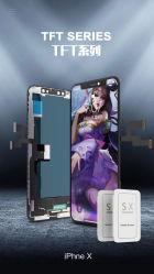 Affissione a cristalli liquidi dell'affissione a cristalli liquidi TFT del telefono mobile per il rimontaggio massimo dello schermo di visualizzazione dell'affissione a cristalli liquidi di iPhone X Xs Xs Xr X11, per l'affissione a cristalli liquidi di iPhone