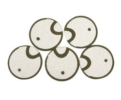Fbpzt3mm Material de cerámica piezo-disco para el transductor de ultrasonidos