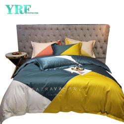 Melhor qualidade de estilo de moda roupa de cama misturar e combinar programável coloridos 100% Seda Cama King