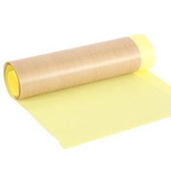 Personalizar la alta temperatura recubierto de PTFE de sellado de roscas de aislamiento de fibra de vidrio anti Cinta adhesiva Cinta de tela