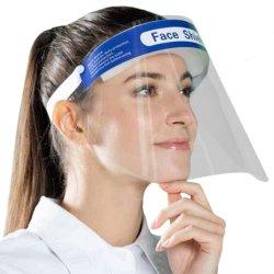 Fabrik-Preis-Antinebel-Raum-Haustier-Plastikschablonen-Maske, schützendes Wegwerfgesichts-Schild für volles Gesicht