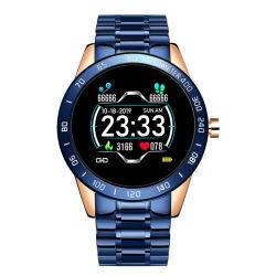 2020 Nuevo negocio inteligente Android Bracelet Watch para los hombres Fitness Sport Tracker la frecuencia cardiaca de la presión arterial