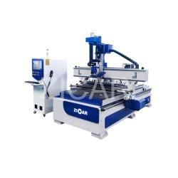 Bois économique machine CNC 3 axes de la machine 4 axes de coupe automatisé 1325 4e Maquinas para madera Tallar de gravure