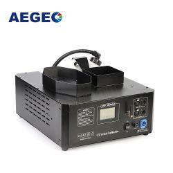 3000w ماكينة الدخان لأعلى 33X3w RGB DMX LED الرأسي البعيد ماكينة الضباب