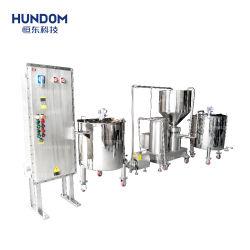 Perfume máquina mezcladora de acero inoxidable con agitador neumático de depósito de mezcla de líquidos para el líquido de medicina