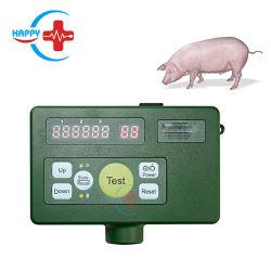 Hc-R055 판매를 위한 수의 휴대용 Backfat 측정 계기/돼지 가축 뒤 지방질 측정 검사자